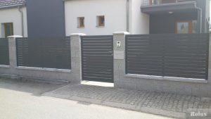 Hliníkové ploty - TAM Pavlice